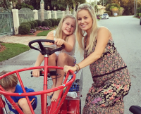 Emily Maynard and Daughter Ricki
