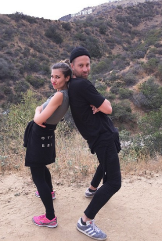 Britt Nilsson and Brady Toops