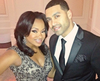 Phaedra Parks and Apollo Nida on Real Housewives of Atlanta