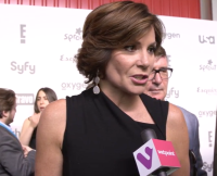 Luann De Lesseps at the NBCUniversal Cable Upfronts