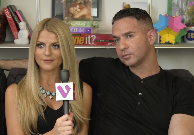 Lauren Pesce and Mike Sorrentino