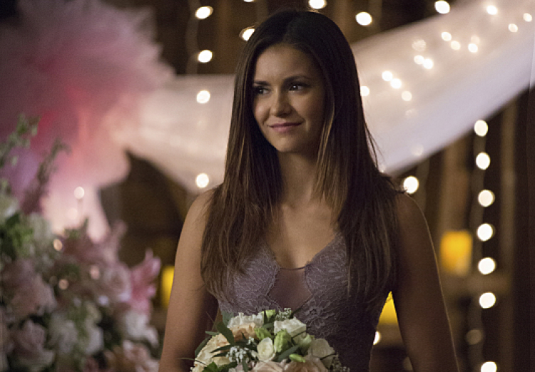 """Elena Gilbert in The Vampire Diaries Season 6, Episode 21 (""""I'll Wed You in The Golden Summertime"""")"""