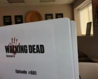 Gale Anne Hurd shared this Walking Dead Season 6 Script shot.