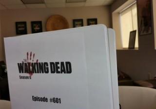 Walking Dead Season 6 Script Image