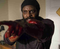 Chad L. Coleman as Tyreese in The Walking Dead Season 5.