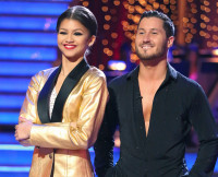 Zendaya and Val in DWTS Season 16