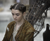 Arya on Game of Thrones Season 5, Episode 8