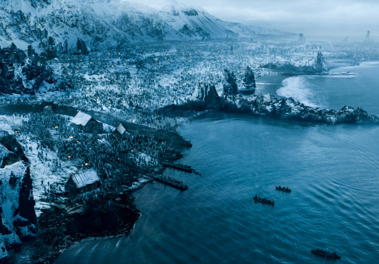 Hardhome on Game of Thrones Season 5, Episode 8