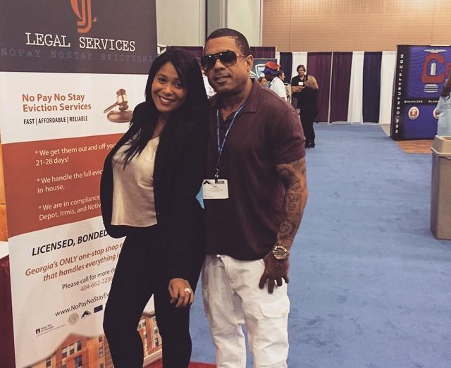 Love & Hip Hop Atlanta's Former Stars Benzino and Althea Heart
