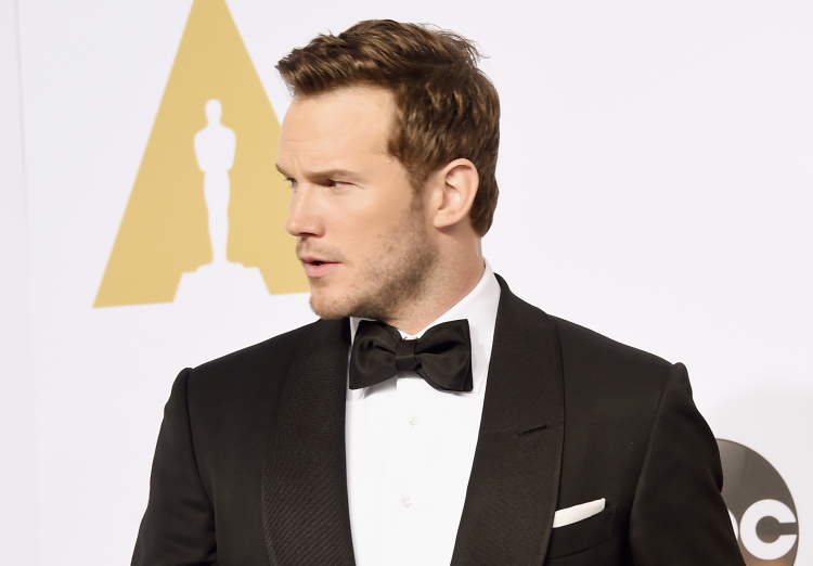 Chris Pratt at 87th Annual Academy Awards - Press Room