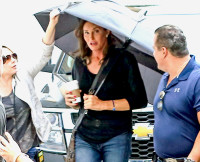 **EXCLUSIVE TO INF. PREMIUM RATES APPLY. STRICTLY NO WEB USAGE BEFORE 3AM EST, JUNE 12 2015** INF - Exclusive - Caitlyn Jenner Films Her Docuseries, 'I Am Cait'