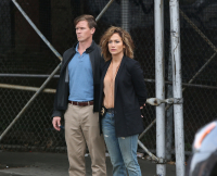 Jennifer Lopez is cuffed on the set of ?Shades of Blue?