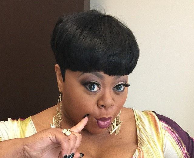 countess vaughn embraces herself in sexy photoshoot
