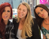 Teen Mom 2 on Press Day
