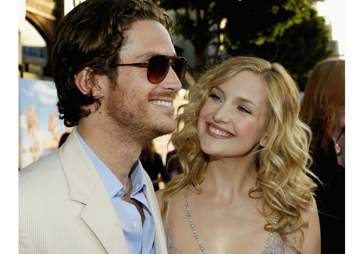 Oliver and Kate Hudson Los Angeles Premiere of Raising Helen