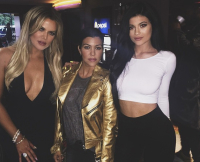 Kylie Jenner, Khloe and Kourtney Kardashian