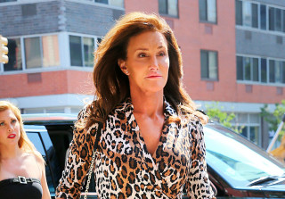 Caitlyn looks great in leopard!
