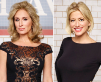 Sonja Morgan and Dorinda Medley on The Real Housewives of New York Season 7