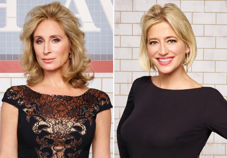 Sonja Morgan and Dorinda Medley on The Real Housewives of New York Season 7