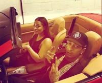 Lauren London and Boyfriend Rapper Nipsey Hussel
