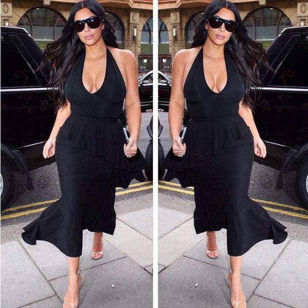 Kim Kardashian at 4 Months Pregnant
