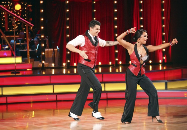 Rob Kardashian and Cheryl Burke on DWTS Season 13