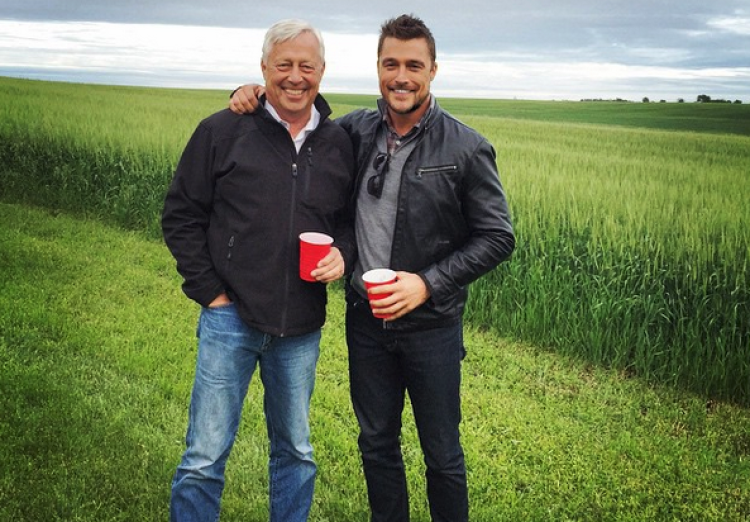 Chris Soules and His Dad