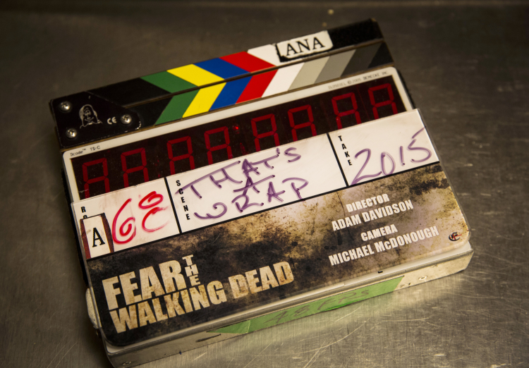 Fear the Walking Dead Pilot Slate