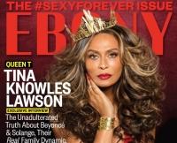 Tina Knowles Covers Ebony at 61