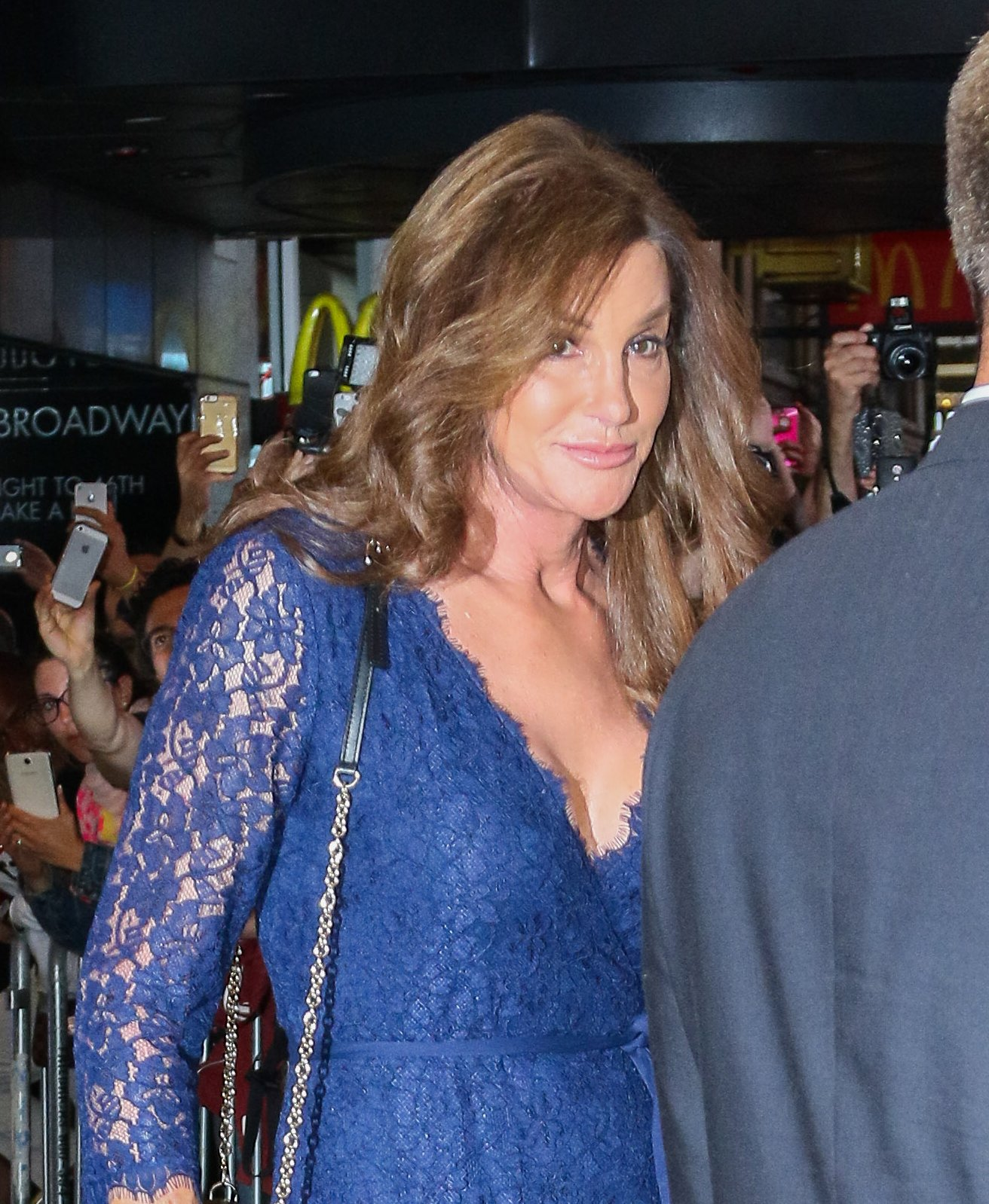 Caitlyn Steps Out For A Broadway Play