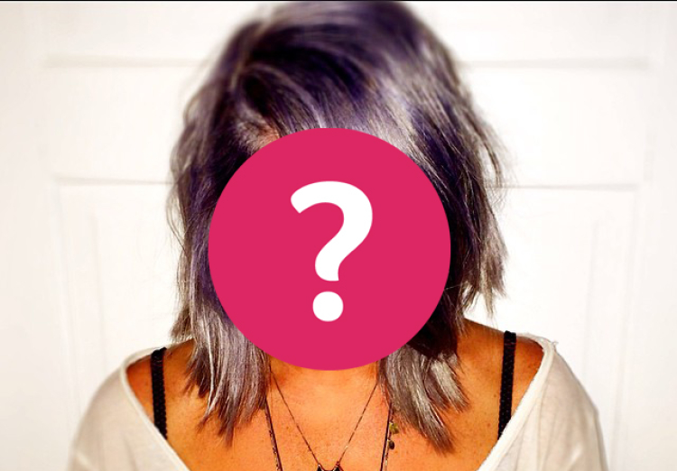 Guess Who Dyed Her Hair Purple?