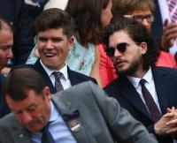 Kit Harington at Wimbledon 2015