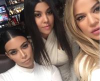 Kim Kardashian, Khloe, and Kourtney