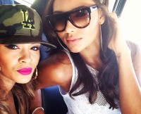Evelyn Lozada and Daughter Shaniece Lozada