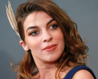"""Natalia Tena at the Apple Store Soho Presents Meet The Filmmakers: """"Harry Potter And The Deathly Hallows"""""""