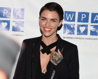 Ruby Rose ar Orange Is The New Black Season 3 Screening Benefiting The Women's Prison Association