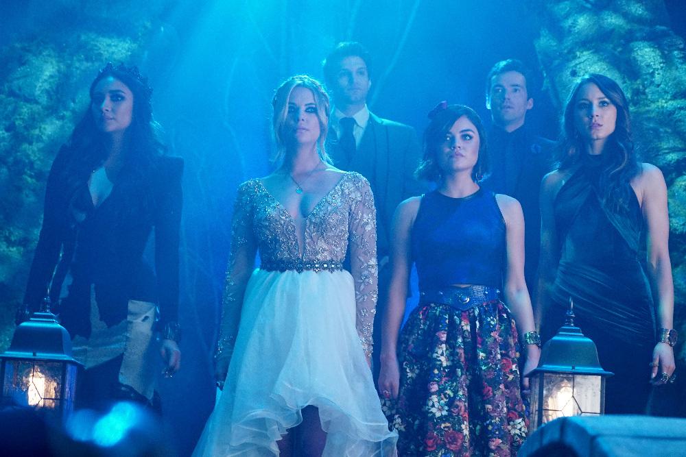 The Liars on on Pretty Little Liars Season 6, Episode 9