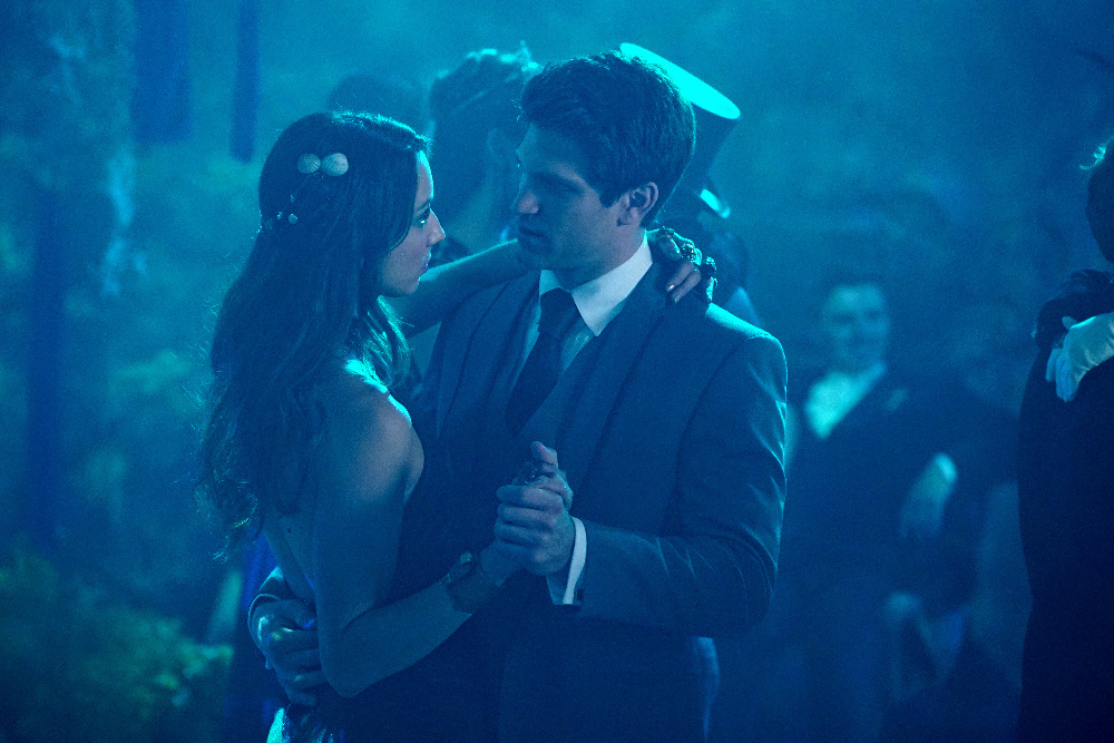 Toby and Spencer on on Pretty Little Liars Season 6, Episode 9