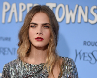 """Cara Delevingne at """"Paper Towns"""" New  York Premiere"""
