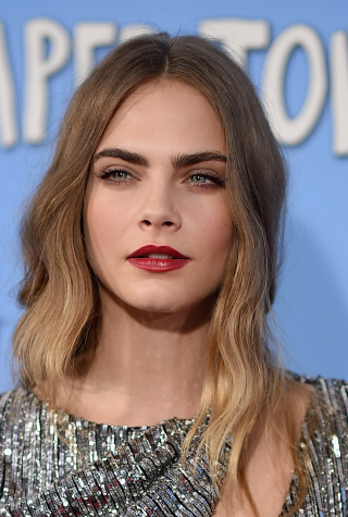 "Cara Delevingne at ""Paper Towns"" New  York Premiere"
