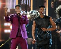 Jussie Smollett and Yazz at 2015 Billboard Music Awards - Show