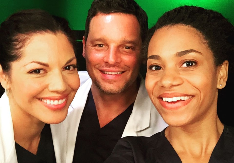 ... Ramirez, Justin Chambers, Kelly McCreary, Grey's Anatomy, Scrubs