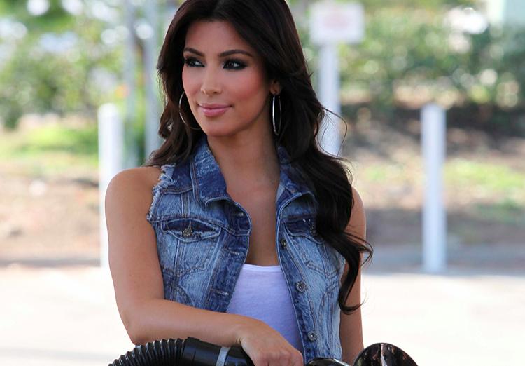 The Kardashians Go Glam to Pump Gas