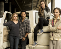 Madison, Travis, Alicia, and Nick in Season 1, Episode 1 of Fear the Walking Dead
