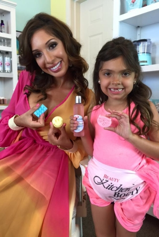 Farrah Abraham and Sophia's Beauty-Line