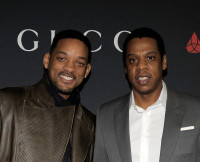 Will Smith and Jay Z at Gucci And RocNation Pre-GRAMMY Brunch