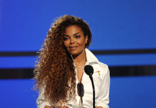 Janet Jackson Accepts Award at 2015 BET Awards show