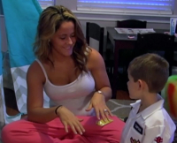 Jenelle Evans and Jace on Teen Mom 2