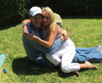 Kim Richards and Monty Brinson
