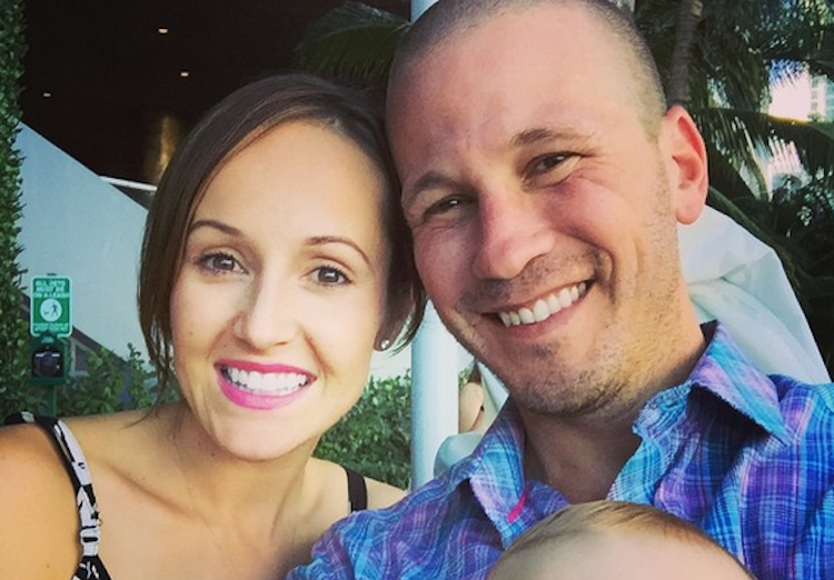 Ashley Hebert, JP Rosenbaum, and Son Fordham